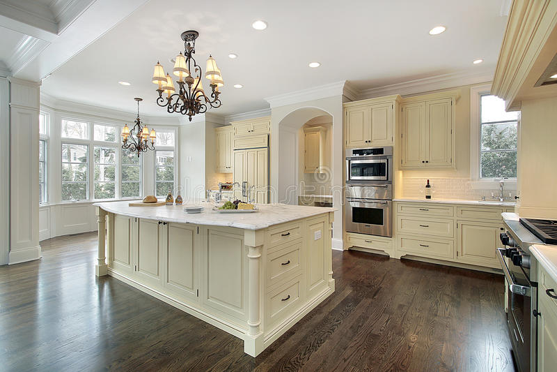 budowy nowy domowy kuchenny obraz royalty free