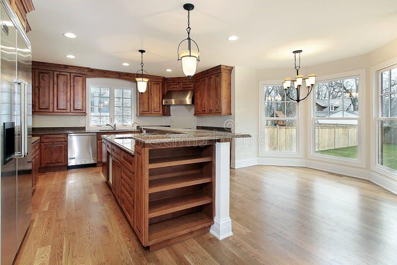 budowy nowy domowy kuchenny zdjęcia stock