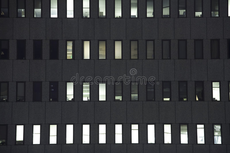 budują 2 biura oknem zdjęcie royalty free