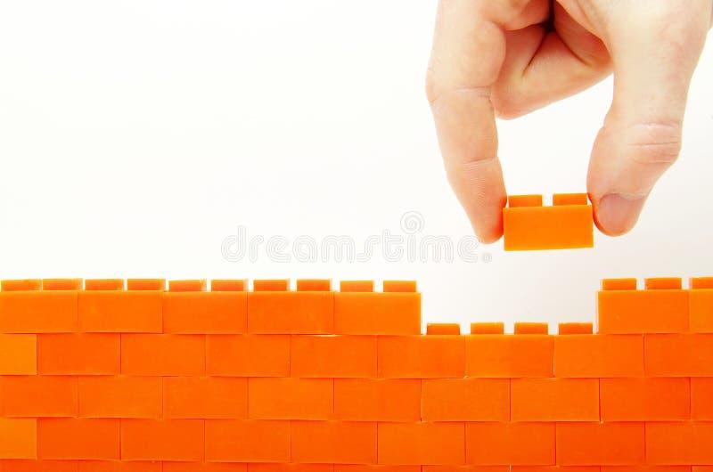 budująca ściana zdjęcie stock