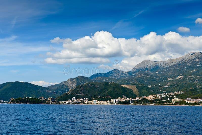 Budva la Riviera Monténégro l'Europe photos stock