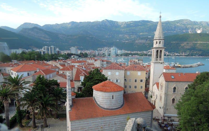 Budva, Montenegro lizenzfreie stockbilder