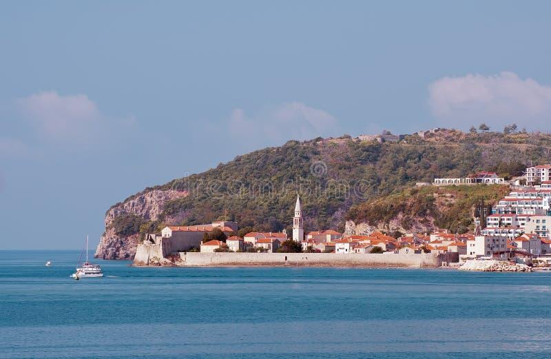 Budva. Montenegro arkivfoton