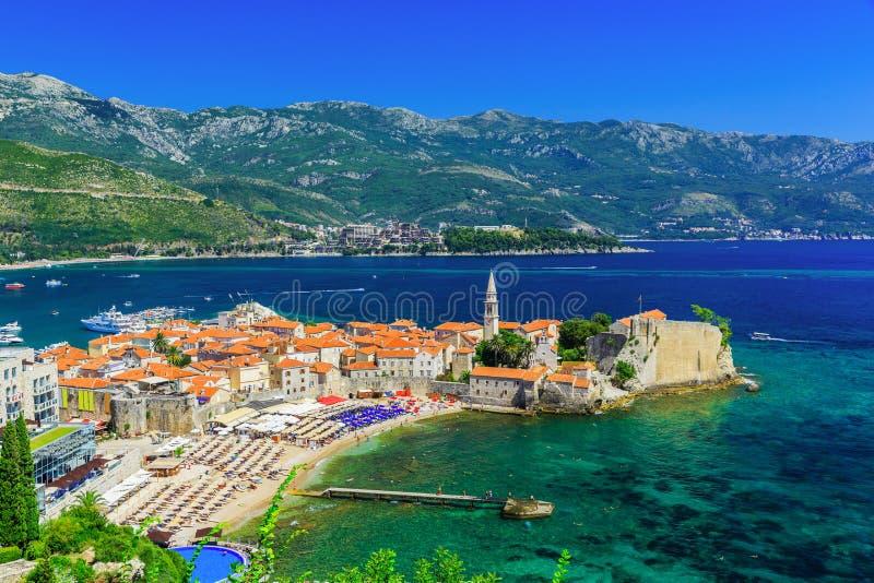 Budva, Montenegro foto de stock