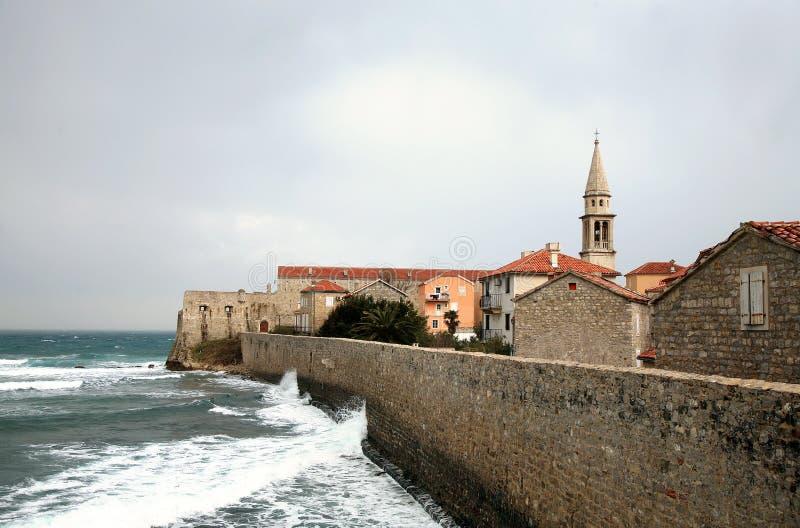 Budva, Montenegro immagini stock libere da diritti