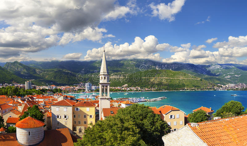 budva Riviera Budva Montenegro zdjęcia royalty free