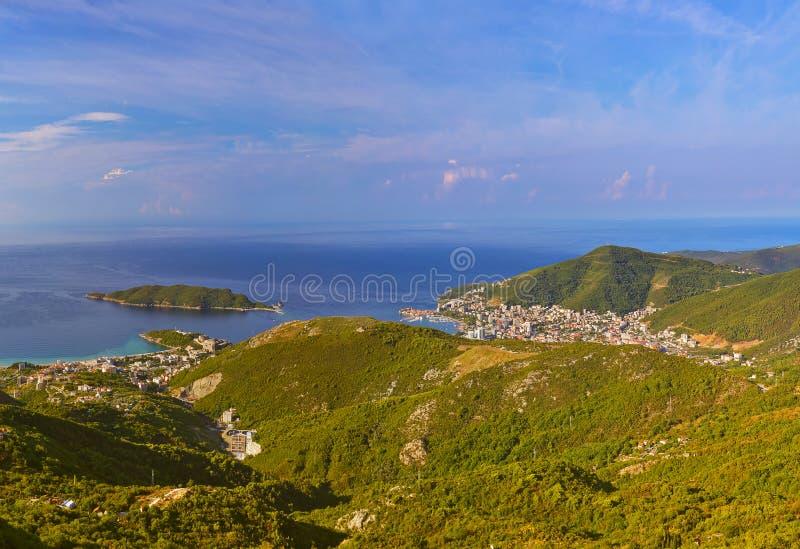 Budva Riviera - Montenegro stockbilder
