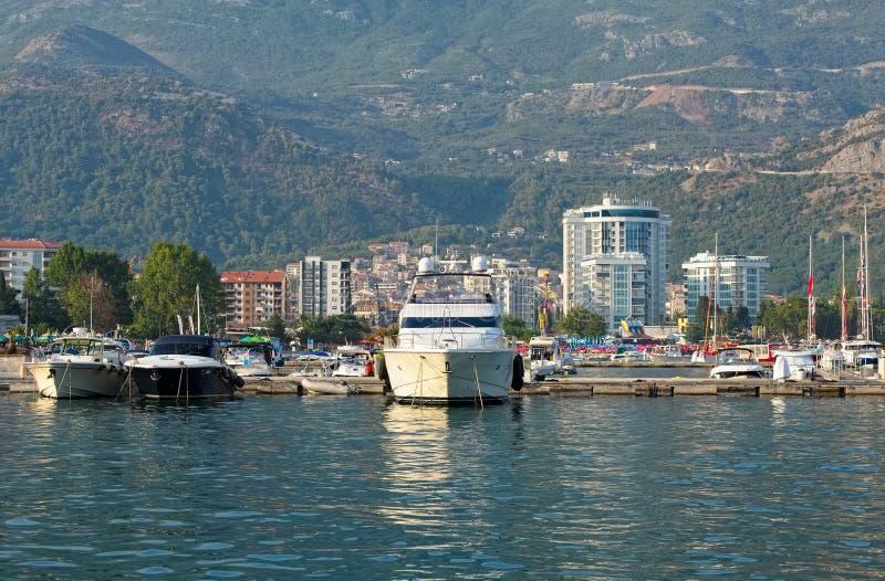 Budva Riviera, resort stock image