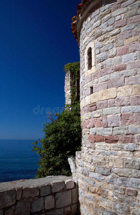 Budva Tower stock photos