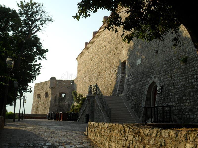 Budva - Weltkulturerbeliste lizenzfreies stockbild