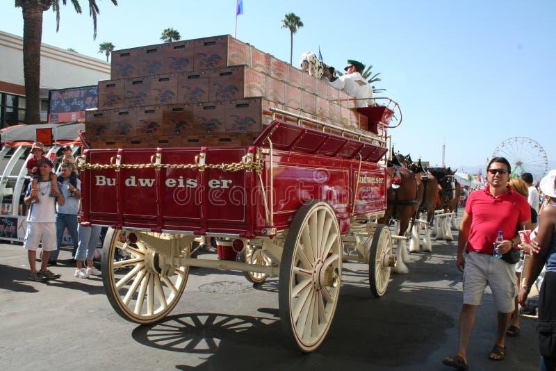 Download Budweiser Wagon Editorial Image - Image: 18389165
