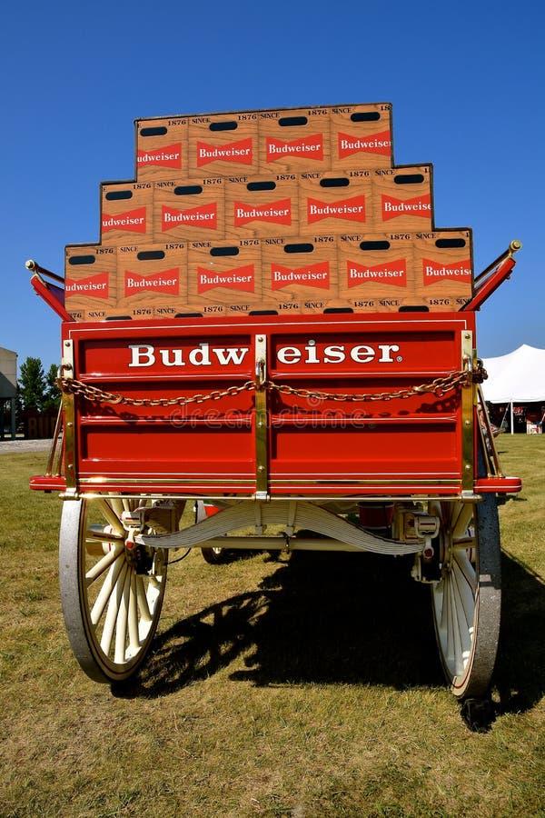 Anheuser Busch Malting Plant With A Budweiser Logo Sign
