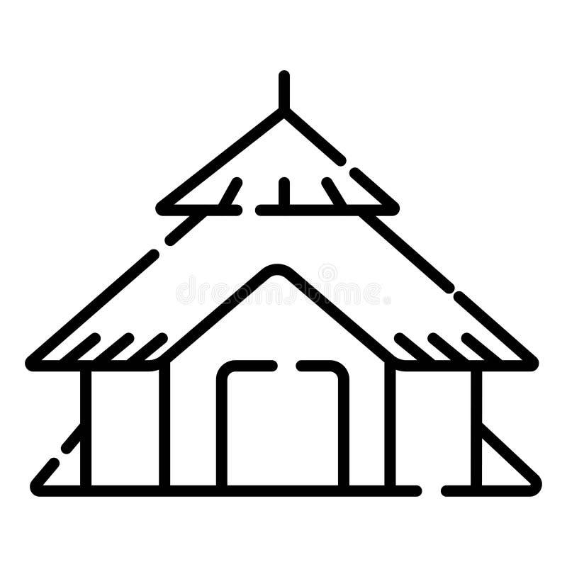 Budy ikony wektor ilustracji
