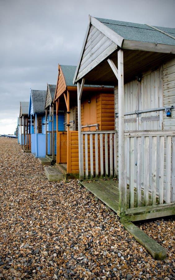 budy plażowa zima obrazy stock