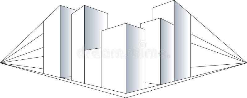 Download Budynek ilustracja wektor. Obraz złożonej z rozwojowy - 5670010