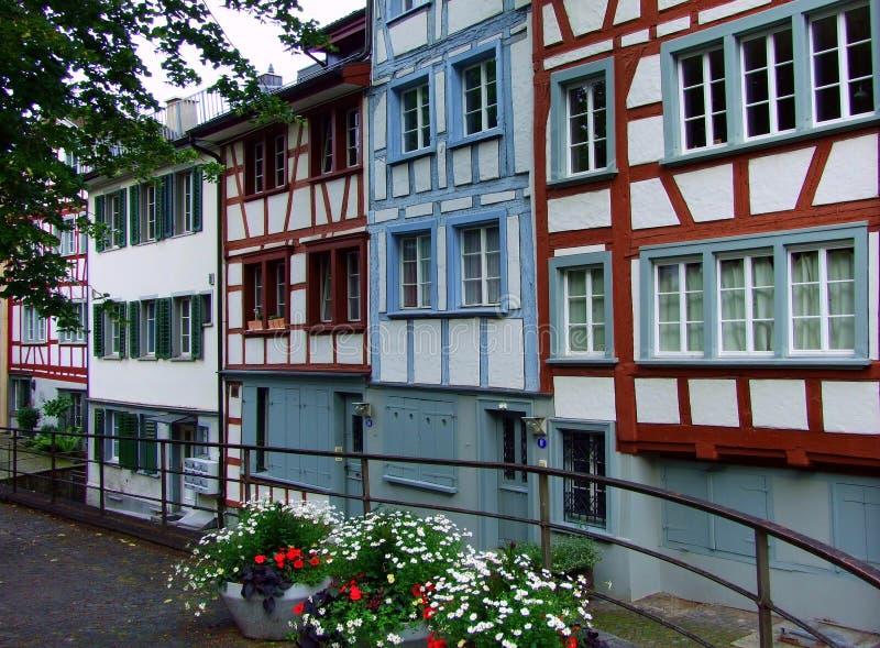 budynek, architektura, dom, okno, stary, miasto, fasada, okno, powierzchowność, mieszkanie, Europe, ściana, cegła, miasteczko, do obrazy royalty free