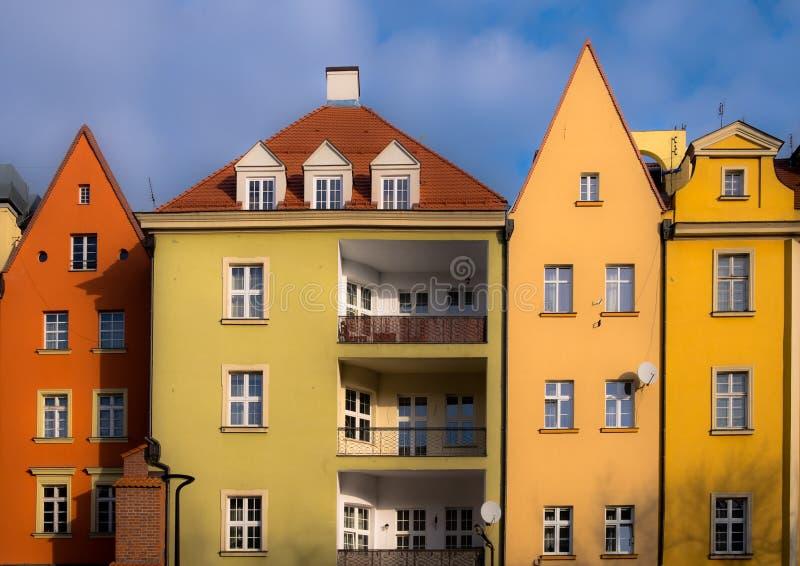 Budynek architektura w Polska zdjęcie royalty free