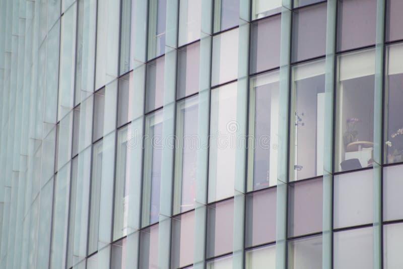 Budynek biurowy widzieć z zewnątrz obrazy stock