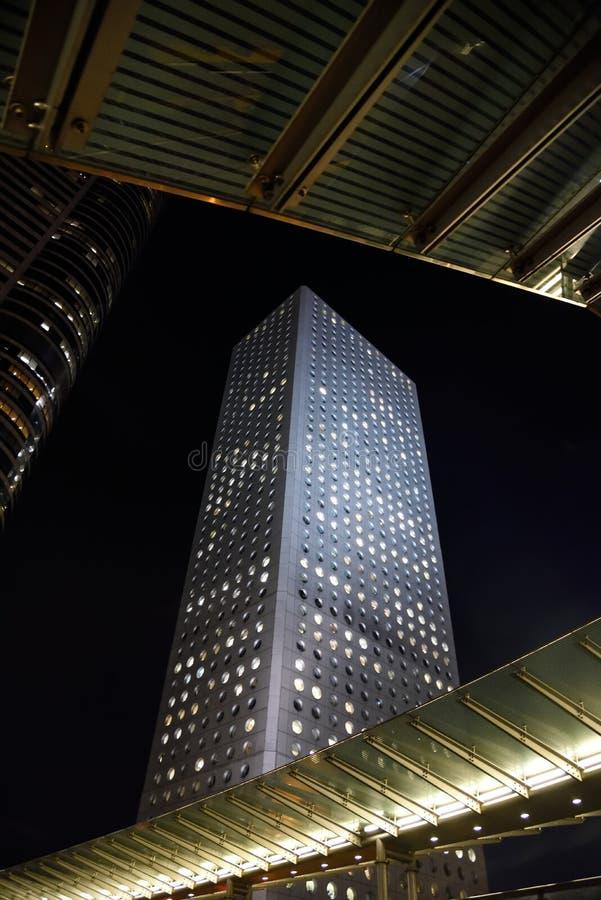 Budynek blisko ZhongHuan RD w HongKong zdjęcie stock