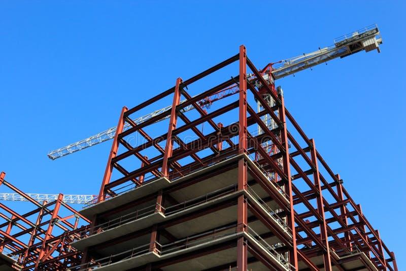Budynek budowa obraz stock