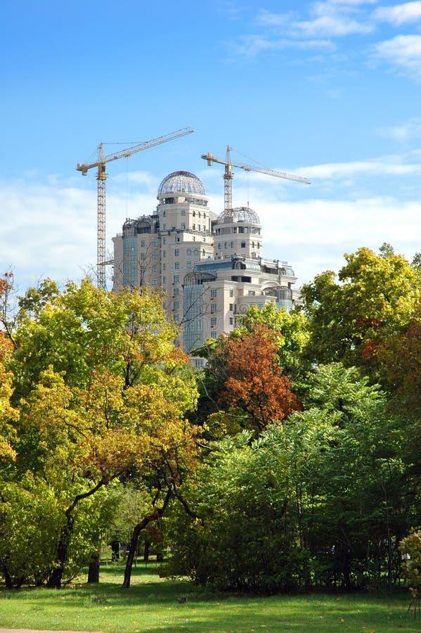 budynek budowy park obraz royalty free
