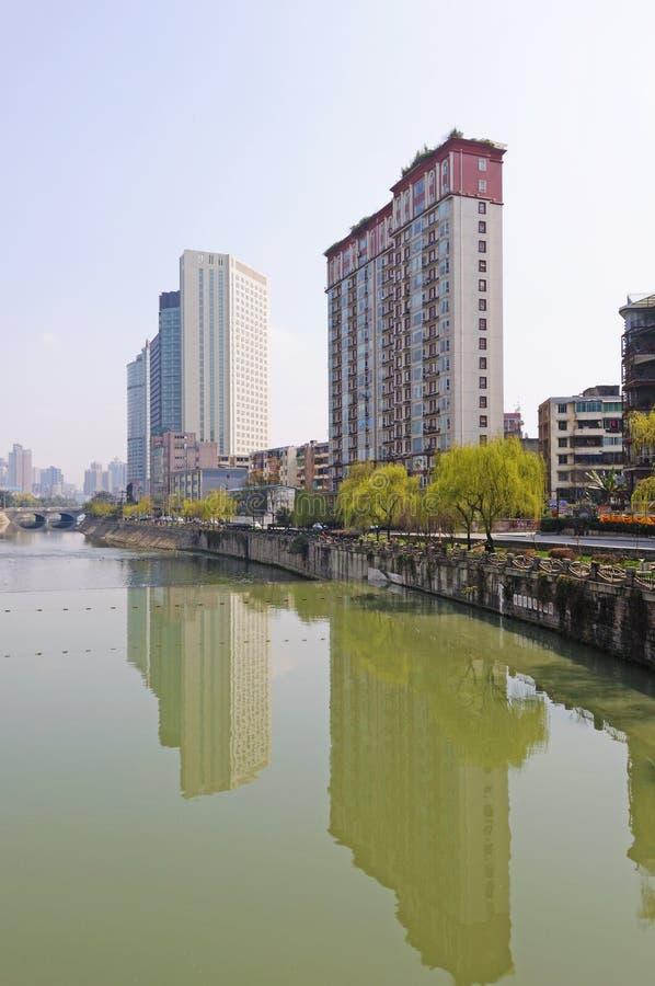 budynek Chengdu nowożytny obrazy royalty free