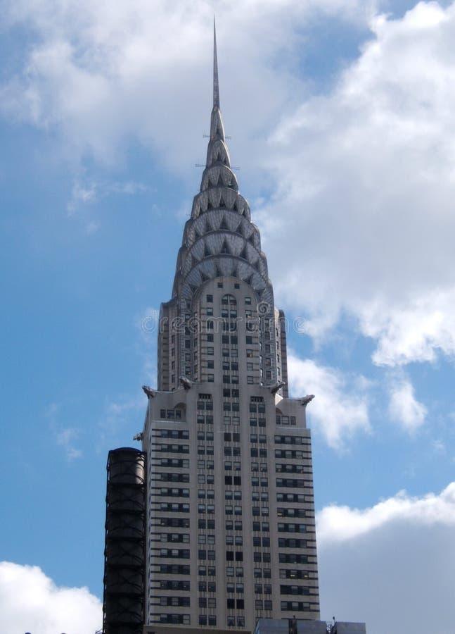 budynek Chryslera fotografia royalty free