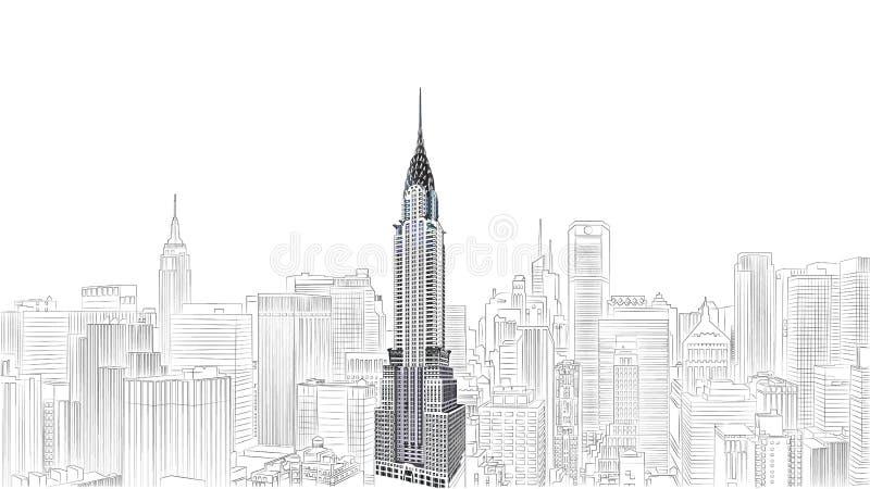 budynek Chryslera zdjęcie stock