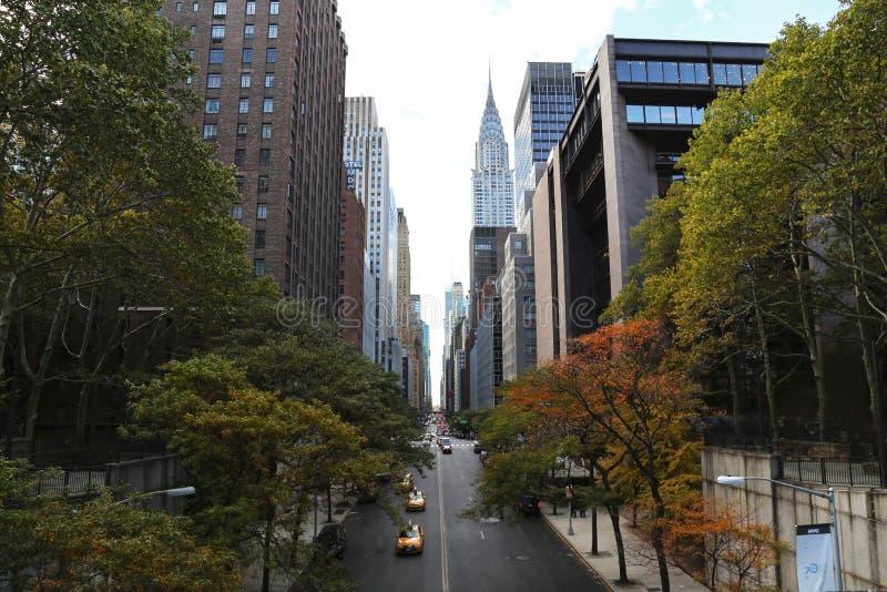 budynek Chryslera zdjęcie royalty free