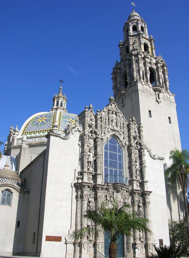 budynek Diego parkowy San obrazy royalty free