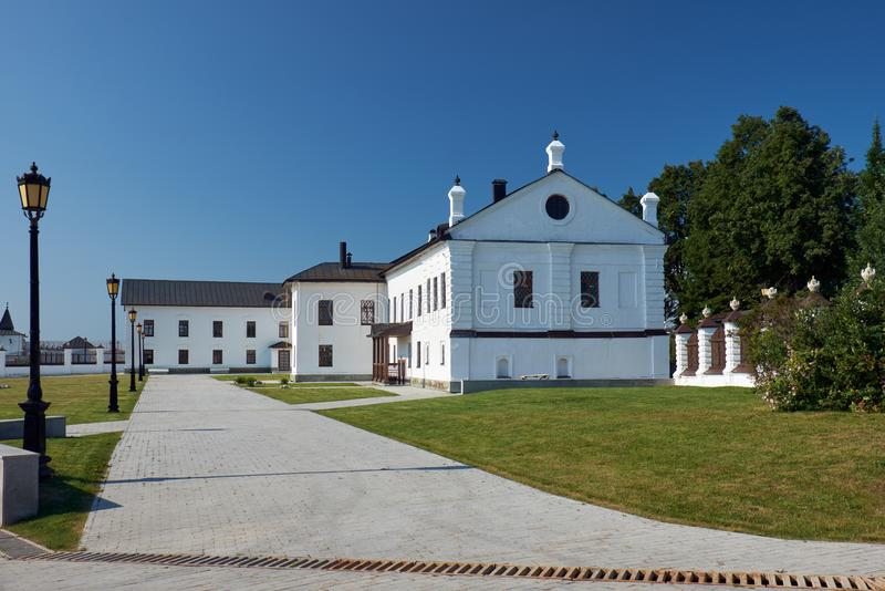 Budynek Duchowy konsystorz kreml tobolsk Tobolsk Rosja zdjęcia stock