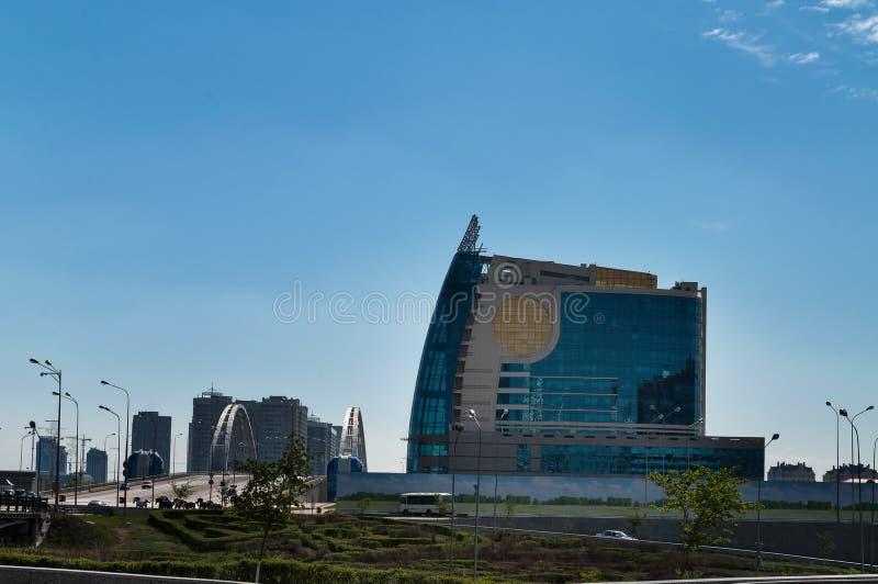 Budynek Eurazjatycka Pieniężna grupa Astana zdjęcie royalty free
