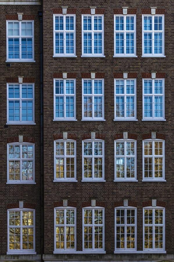 budynek fasada London zdjęcia royalty free