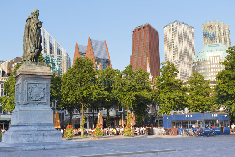 budynek Hague nowy zdjęcie stock