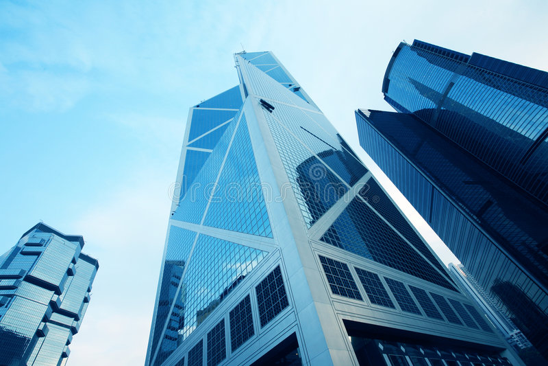 budynek Hongkong fotografia royalty free