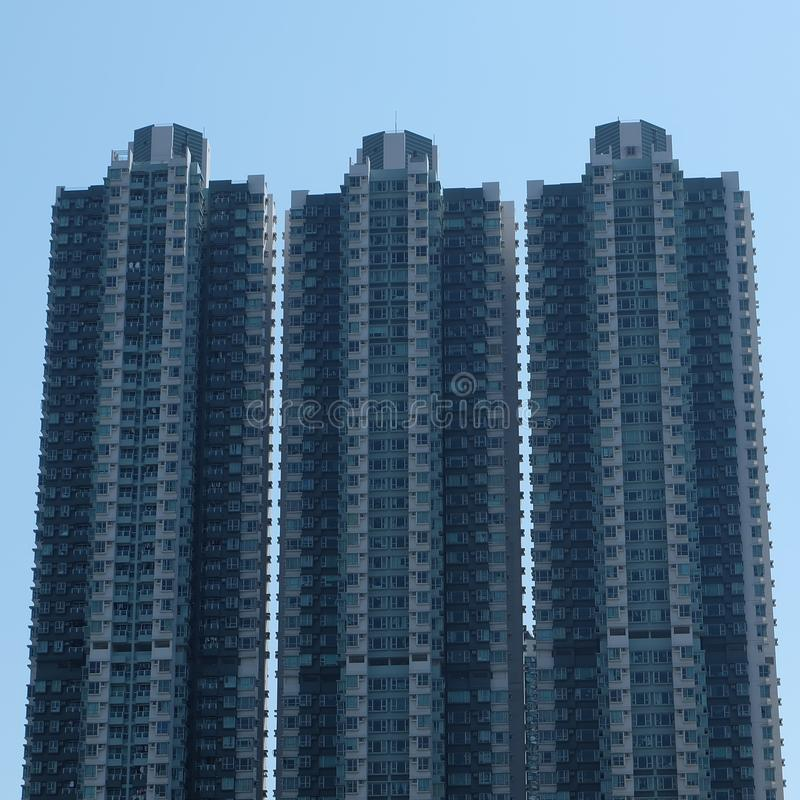 budynek Hongkong obraz royalty free