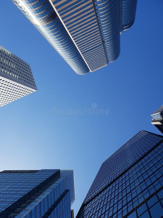 budynek Hongkong miasto obraz royalty free