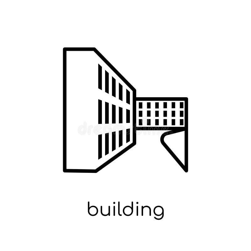 budynek ikona  ilustracji
