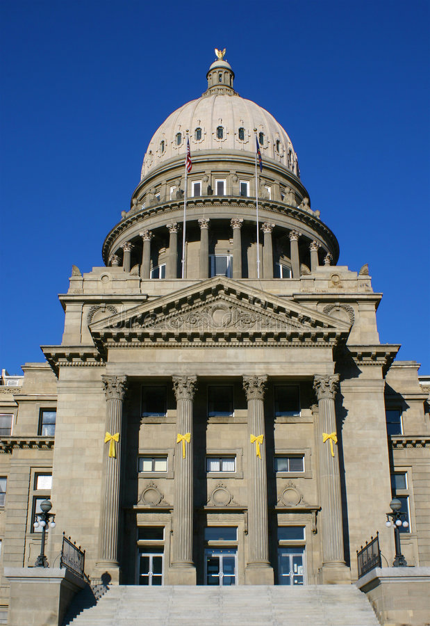 budynek kapitolu Idaho fotografia stock