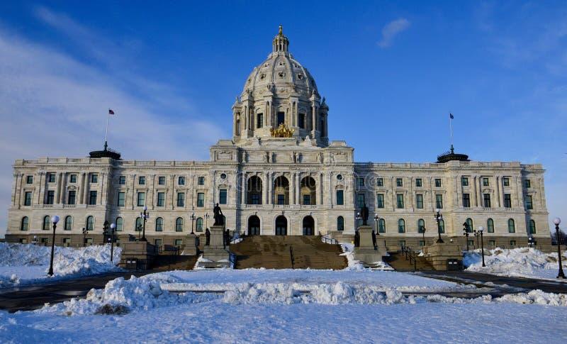 budynek kapitolu stanu Minnesota fotografia royalty free