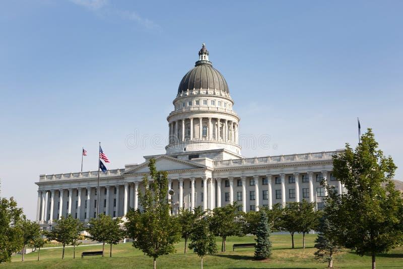budynek kapitolu stanu Utah obrazy stock