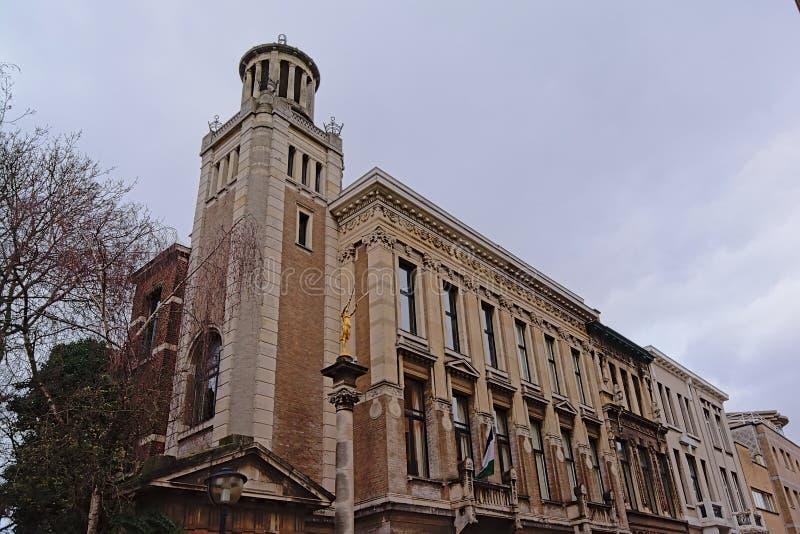 Budynek Lesotho konsulat zaszczyt, Antwerp, Belgia obraz stock