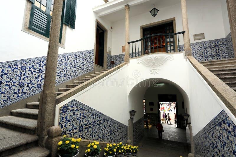 budynek Macau zdjęcie stock