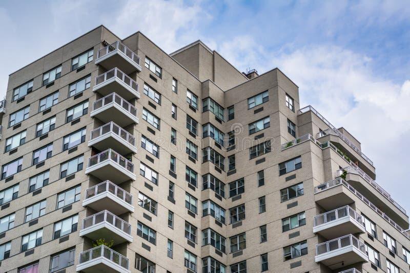 Budynek mieszkalny w greenwichu village, Manhattan, Miasto Nowy Jork obrazy stock