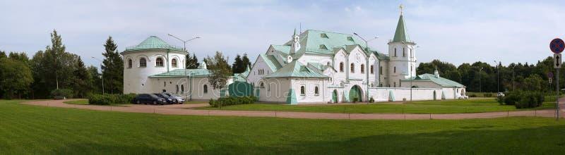 Budynek Militarna sala w stan rezerwie Tsarskoe Selo fotografia stock