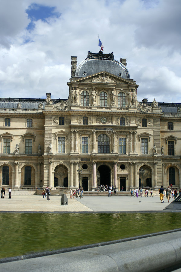 budynek Paryża zdjęcie stock