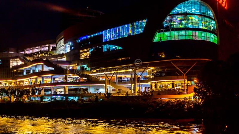 Budynek pięknych świateł obraz royalty free