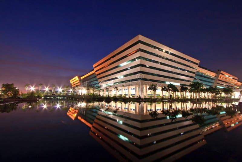 budynek powikłany rządowy Thailand zdjęcia royalty free