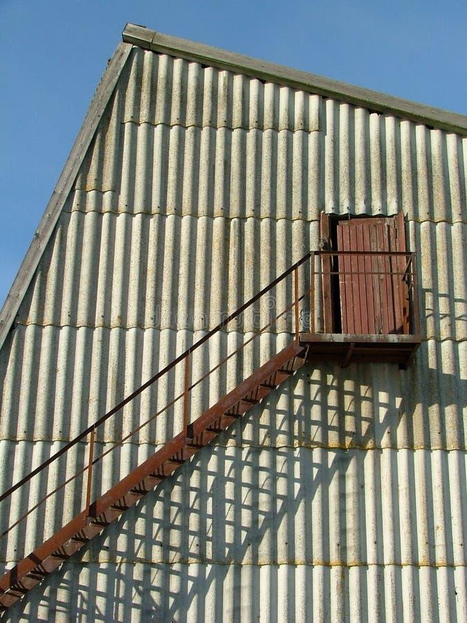budynek schody zewnętrzne fotografia stock