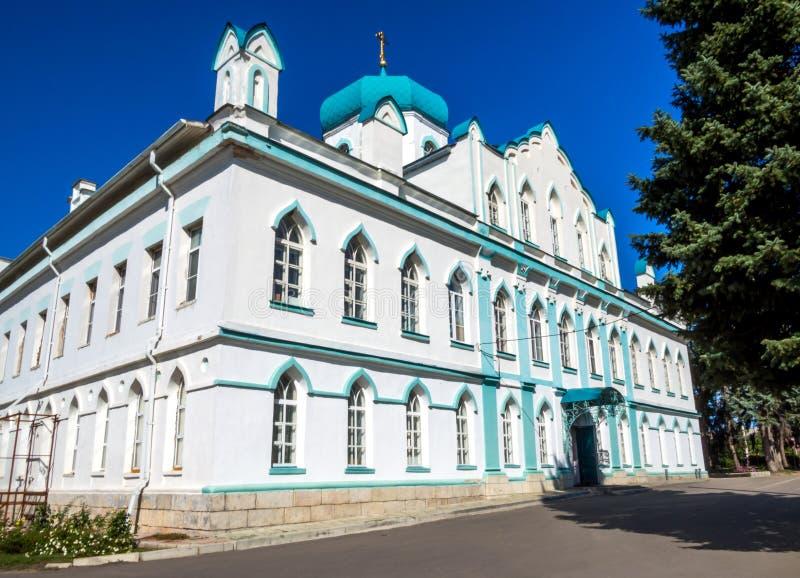 Budynek Senyavins nieruchomość, Kon-Kolodez Lipetsk region wioska obrazy royalty free